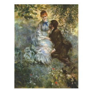 Paare Liebhaber durch Pierre Renoir Postkarte