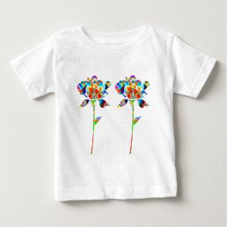 Paare schöne BLUMEN T Shirts
