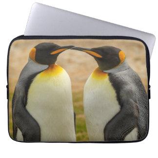 Paare von König Pinguine, Falkland Laptopschutzhülle