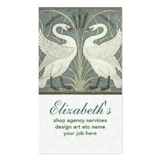 Paarschwan-Visitenkarte Visitenkarten