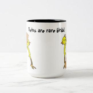 Paart Küken Zweifarbige Tasse