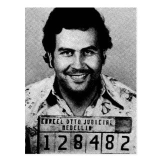 Pablo Emilio Escobar Postkarte