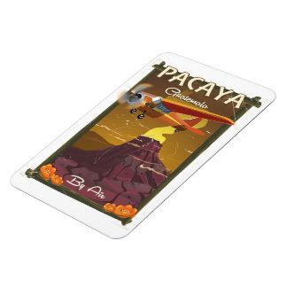 Pacaya Vulkan-Guatemala-Reiseplakat Magnet
