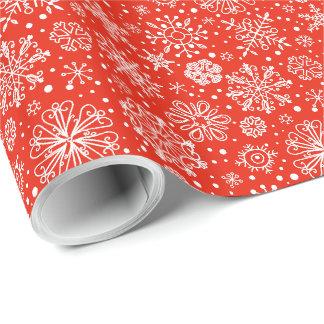 Packpapier - Aufregung der Schneeflocken