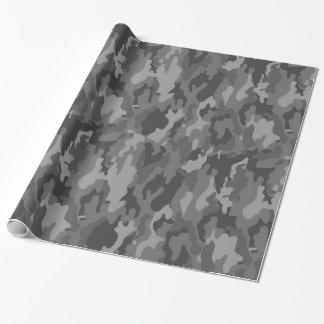 Packpapier der Armee-Tarnungs-(dunkelgraue Farbe)