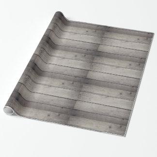 Packpapier-Holz Geschenkpapier