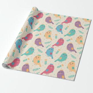 Packpapier - kleine Piepmätze