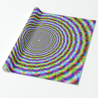 Packpapier-kreisförmige psychedelische geschenkpapier