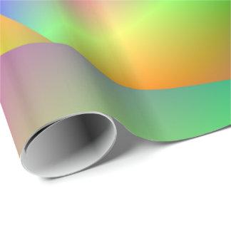 Packpapier-psychedelische Spirale Geschenkpapier