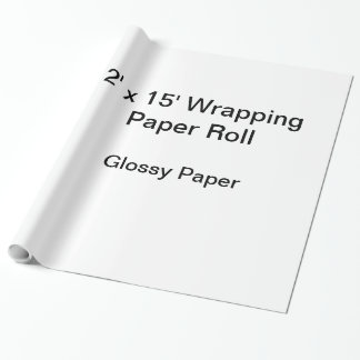Packpapier (Rolle 2x15, Glanzpapier)