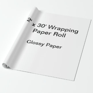 Packpapier (Rolle 2x30, Glanzpapier)