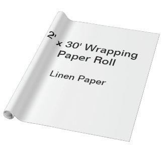 Packpapier (Rolle 2x30, Leinenpapier) Geschenkpapierrolle
