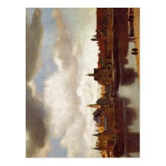 Packwagen Johannes Vermeer Jan. Vermeer Delft Postkarte