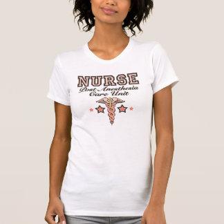 PACU Krankenschwester-Trägershirt-RosaCaduceus