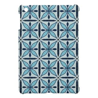 Pad-Rumpf I Mini- blaue grafische Gründe iPad Mini Hülle