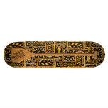 Paddel mit Aloha Skateboard Skateboardbretter