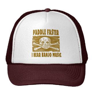 Paddel schneller höre ich Banjo-Musik Truckermütze