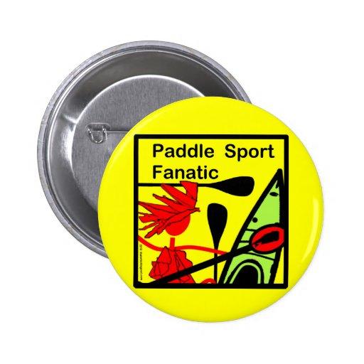 Paddel-Sport-Fanatiker-Spaß Anstecknadel