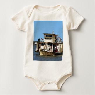 Paddeldampfer, Goolwa, Australien Baby Strampler