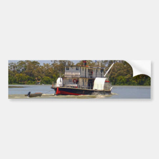Paddle_Steamer, _Murray_River, _ Autoaufkleber