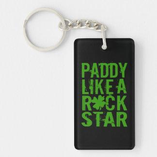 Paddy mögen einen Rockstar II Schlüsselanhänger