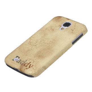 PADDY Name eingebrannter kundengebundener Galaxy S4 Hülle