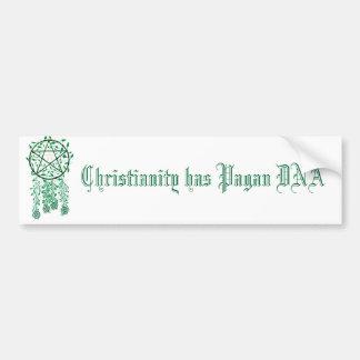 PAG, Christentum hat Heiden DNS Autoaufkleber