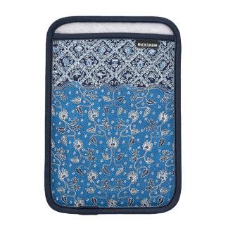 Pagi Wunde/Tages-u. NachtBlumen-Batik iPad Mini Sleeve