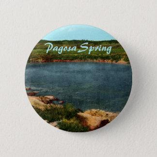 Pagosa Frühlings-Knopf Runder Button 5,7 Cm