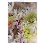 Paint Splash Flower Birthday Card