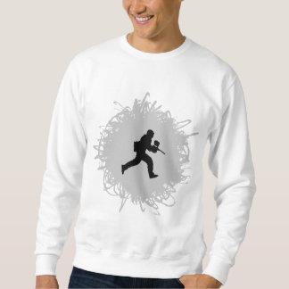 Paintball-Gekritzel-Art Sweatshirt