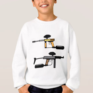 Paintball-Gewehr Sweatshirt