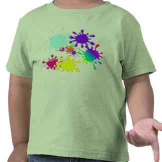 Paintball Splats Tshirt