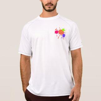 Paintball Splats Kurzarm Shirts