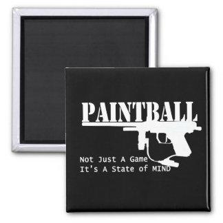 Paintball-Staat des Verstandes Quadratischer Magnet