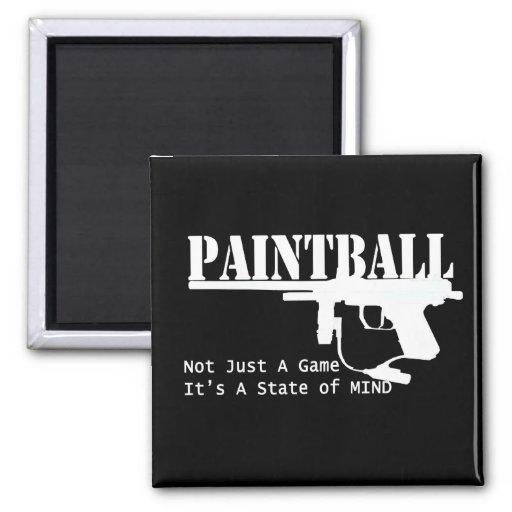 Paintball-Staat des Verstandes Kühlschrankmagnete