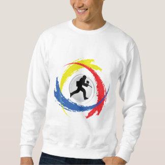 Paintball-Tricolor Emblem Sweatshirt