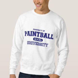 Paintball-Universität Sweatshirt