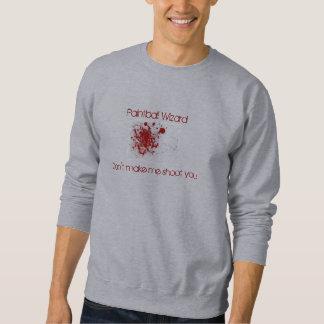 Paintball-Zauberer Sweatshirt