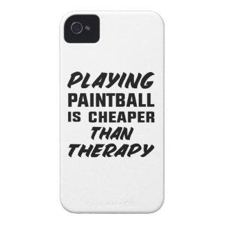 Paintball zu spielen ist billiger als Therapie iPhone 4 Etuis