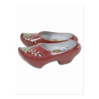PaintedWoodenShoes050111 Postkarte