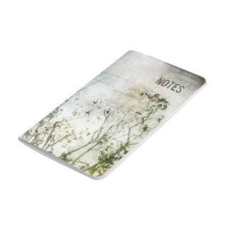 Painterly abstrakte Baum-Taschen-Zeitschrift Taschennotizbuch