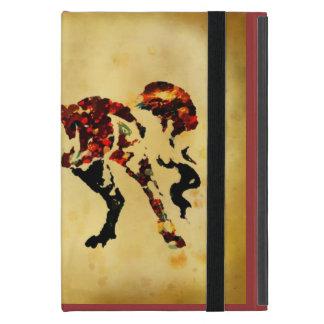 Painterly Artpferdipad Abdeckung iPad Mini Schutzhülle