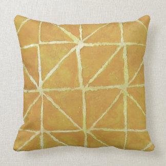 Painterly Muster-Gelb Kissen