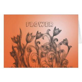 PaintingFlowers Grußkarte