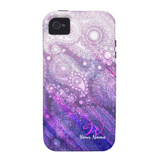 Paisley 3 iPhone Fall Case-Mate iPhone 4 Hülle