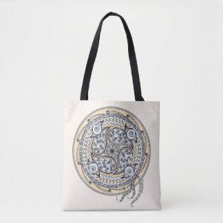 Paisley-Balancen-Mandala-Tasche Tasche