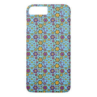 Paisley-Blumen-Entwurfs-Mustercellphone-Kasten iPhone 8 Plus/7 Plus Hülle