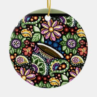 Paisley-Café Keramik Ornament