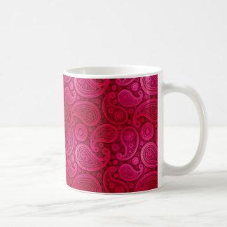 Paisley deluxes | fuschia kaffeetasse